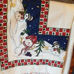 Other - TerriSol holiday tablecloth made by Karsten
